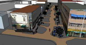 Västra tullgatan sett ur ett tillgänglighetsperspektiv kan ge ett perspektiv på hur gatan vid Guldsmeden kan göras mer attraktiv.