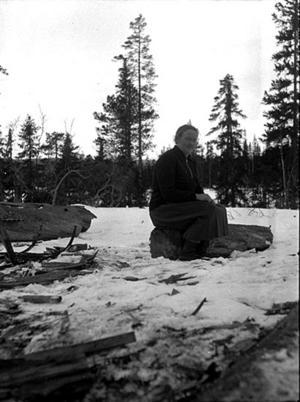 Elise Olofsson arbetade som lärarinna mellan 1915-1934 i Ulvsjön.