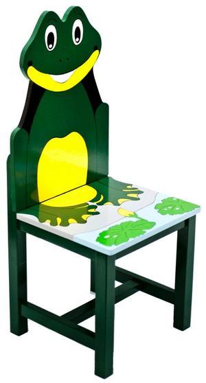 Piggar upp. Kan man bli annat än glad av den här söta grodstolen från Fairwood? Vill du hellre ha ett annat motiv finns stolen även i form av en zebra, en giraff eller en papegoja. Cirkapriset i butik är 400 kronor.