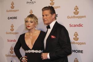 David Hasselhoff var en av de mer celebra gästerna. Han uppträdde under galan.