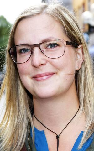 Marie Haglund, 33 år, Krokom:      – Ja, jag är ganska säker. Det är dags för en förändring. Men jag röstar olika i åtminstone två av valen. Det är mer personer jag röstar på i de valen.