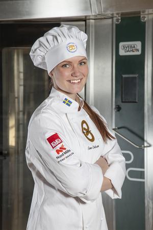 Linn Eriksson från Äppelbo är en av tio som har chans att ta hem titeln.