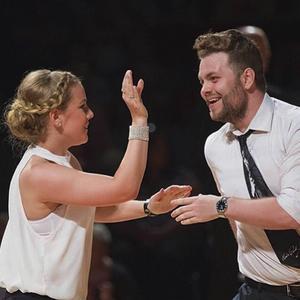 Fanny Elfving och Marcus Bergqvist kom på 15:e plats i vuxenklass Boogie Woogie.