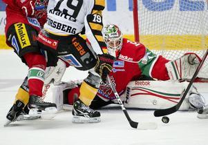 Anton Forsberg var återigen mycket stabil i sitt målvaktsspel och bidrog i allra högsta grad till Modos 4-0 seger mot Leksand.