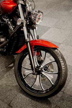 Yamaha syns mer än vanligt, bland annat med choppern XVS 1300 Custom.Foto: Adam Ihse/TT