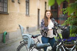 Cicilia Sedvall,  42 år, är Vänsterns lokala toppnamn. Hon är skådespelerska och bor i centrum.