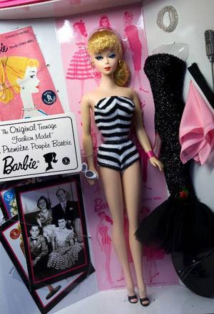 En original-Barbie från 1959.