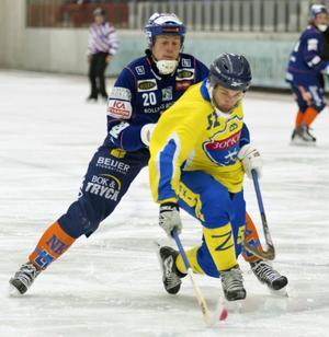 Juho Liukkonen och Bollnäs var skäret efter Denis Kotkov och Zorkij, förlust med 2–7 i gruppspelet.