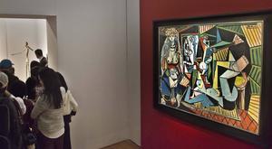 Pablo Picassos oljemålning