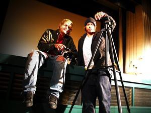 Filmskaparna. Johan Rosengren och Jonas Wahlstrand är killarna bakom skidfilmen The Second Hand. Foto:GabrielAndersson