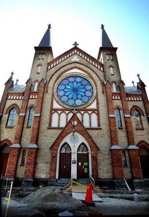 """Sjömanskyrkan – en gång i tiden """"Pehrssons kyrka""""."""