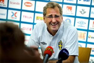 Erik Hamrén menar att Nordin Gerzic är en bit i från ett svenskt A-landslag.