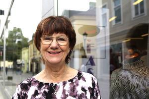 Ewa Ericson trivs med att driva företag och trivs med läget som butiken Sigma Fashion nu har i Sigmahuset.