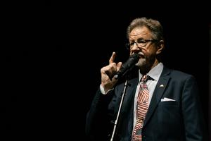 Jazzens vänners ordförande Claes Tillander. Foto: Jakob Svärd