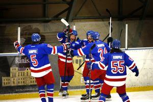 Rimbo Hockey leder fortsättningsserien och har 14 poäng ned till närmaste lag.