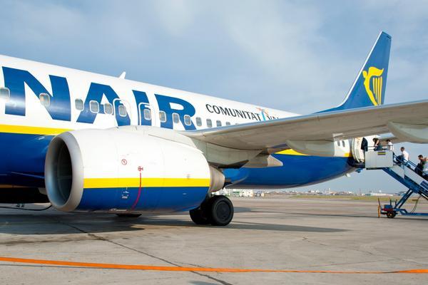 Ryanair glömde passagerare.