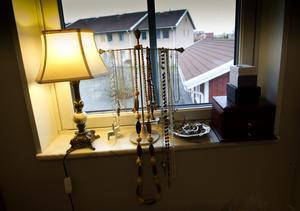 Johanna Åkesdotter Sundquist tycker om gamla saker.