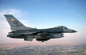 F16 deltar när NATO i juni genomför historiens största flygkrigsövning. Foto: Scanpix