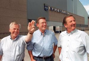 Kjell Damberg, längst till vänster, vet hur det känns att vinna junior-VM.
