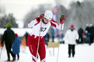 Anders Wiklund från Bjuråker körde in som trea i H 17–20-klassen.