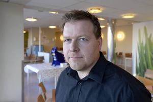 Peter Johansson, driftchef på Drakfastigheter.