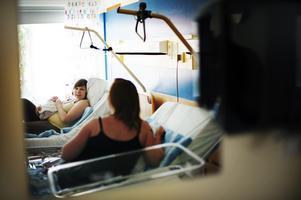 Nyblivna mammor på Östersunds sjukhus.