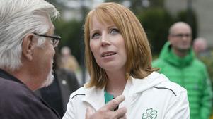 Annie Lööf, näringsminister och partiledare för Centerpartiet.