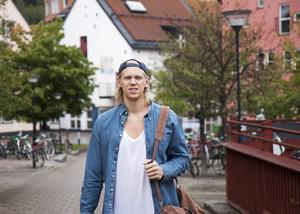 André Nilsson är säker på att det kommer bli mycket med både skolan och basketen, men det är inget han oroar sig för.
