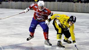 Andreas Tiger missar matchen mot Borgia-Norrköping.