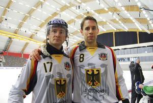 Aleksei Zigankov och Hauke Sander var med när Tyskland tog poäng för första gången i VM.