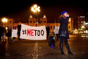 Den senaste tiden har #metoo-manifestationer anordnats på många håll i landet.