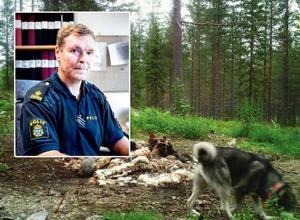 Polisen Staffan Friberg säger att poliskollegor som utreder jaktbrott ofta utsätts för trakasserier.