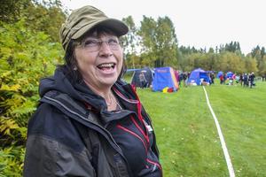 Liza Einebrant från arrangören Östra Härjedalens brukshundsklubb var kommissarie för dagen.
