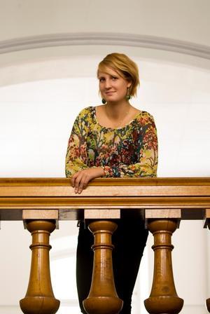 Matilda Sundquist-Boox satsar på att komma in i riksdagen nästa val genom ett projektarbete.