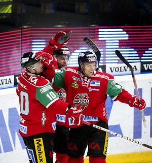 Nicklas Danielsson lämnar Bern för spel i KHL med tjeckiska Lev Prag. Foto: Jennie Sundberg/arkiv