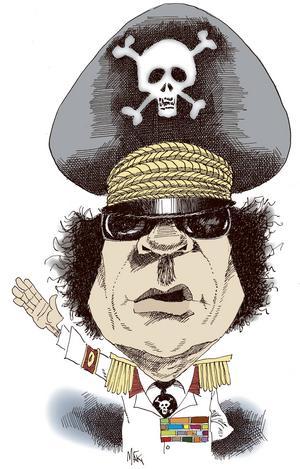 Muammar al-Gaddafi, Libyens diktator sedan 1969, störtades och dog 2011 i ett folkligt uppror.