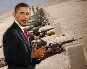 TRAPPAR UPP. President Barack Obama skickar 30 000 soldater till Afghanistan, där USA snart har 100 000 man. Men kriget går inte att vinna med mer vapen, död och förstörelse. Bara förhandlingar med talibanerna och sedan maktdelning ger fred.Bilden är ett montage.
