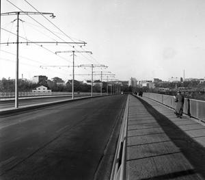 Redan den 18 november 1956, då den här bilden togs,  firades den bilfria söndagen.
