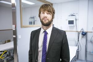 Simon Nilsson, tillförordnad verksamhetschef för ambulansjukvården i Gävleborg.