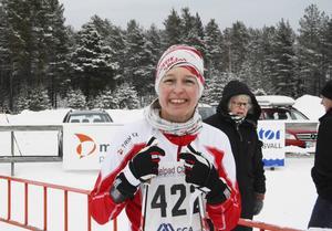 Jessika Ericsson vann damernas klass över 40 kilometer.