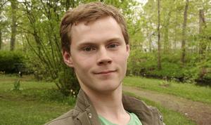 Lukas Löfling. Foto: Camilla Röjerås