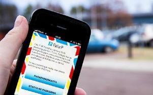 Den nya appen går att ladda ner både till Android och Iphone. Foto: Sofie Lind
