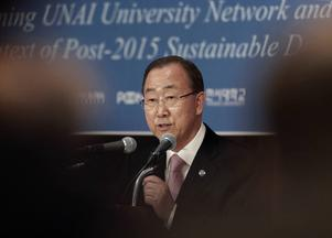 FN-chefen Ban Ki-Moon hoppas att det senaste terrordådet i Paris ska ge en stor koalition som ger diplomatin en chans i Syrien. Måtte han få rätt.