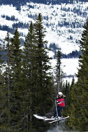 Emma Lindén på jakt efter en första 360.