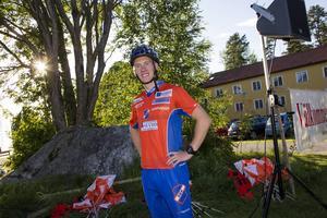 Henrik Fröjd tävlar för Rehn BK i Bollnäs och är en av två deltagare från Hälsingland.