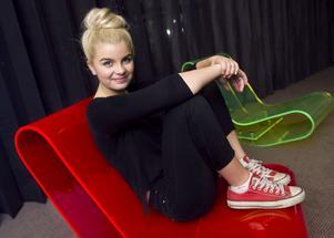 Stjärna? 17-åriga Amanda Fondell från Linderöd har störst chans att slå igenom som artist, tror branschkännarna.