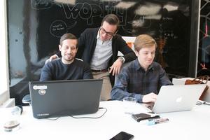 Tekniken från Jimmy Larssons, Fahrim Shirinzades och Henric Carlssons startup-företag Wopify används i nya satsningen Karriär Västmanland.