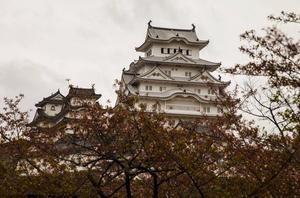 Samuraiborgen i Himeji anses som Japans finaste.   Johan Öberg/TT