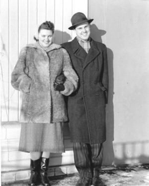 Liz och Lennart fann varandra på Sandängarna i Mora 1953.