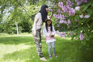 Dottern Yuiko var bara 2,5 år gammal när familjen flyttade från Tokyo till Sundsvall.